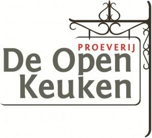 Uithangbord Restaurant Proeverij De Open Keuken